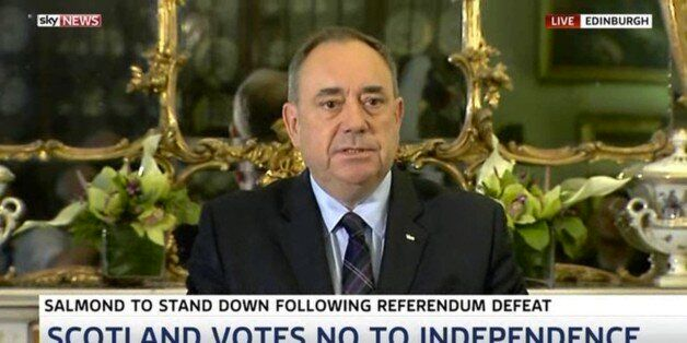 Alex Salmond Resigns: Watch The First Minister's Top Ten