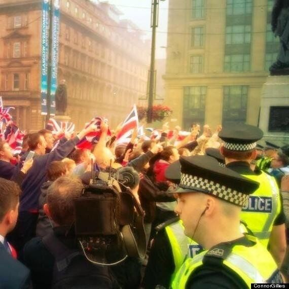 Scottish Independence: 'Dishonest Numpties' Try To Pass Off London Riot Scenes As