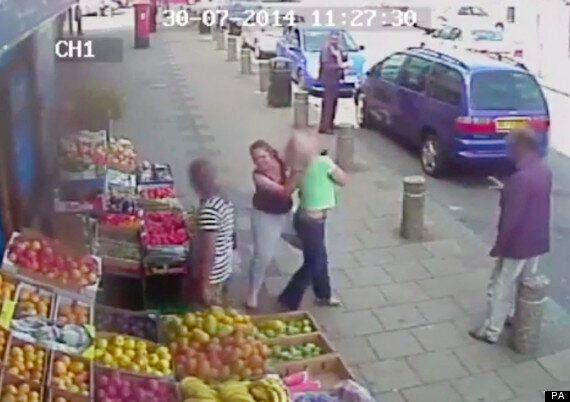 CCTV Footage Captures Brutal Road Rage Attack On Female