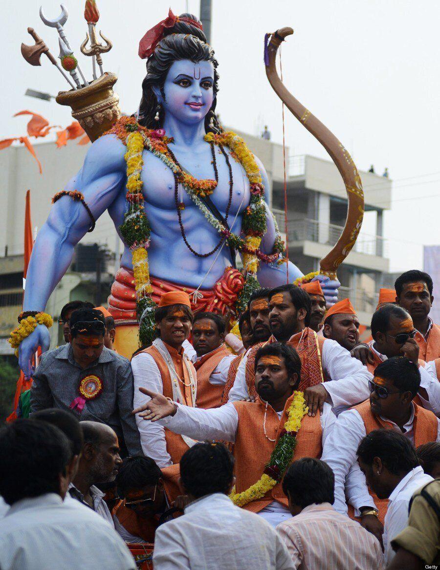 Ram Navami: 13 Stunning Images Of The Hindu Festival CommemoratingThe Birth Of Lord Rama