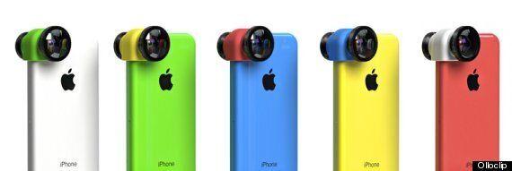 OlloClip: 3-In-1 Camera Lens For iPhone 5C