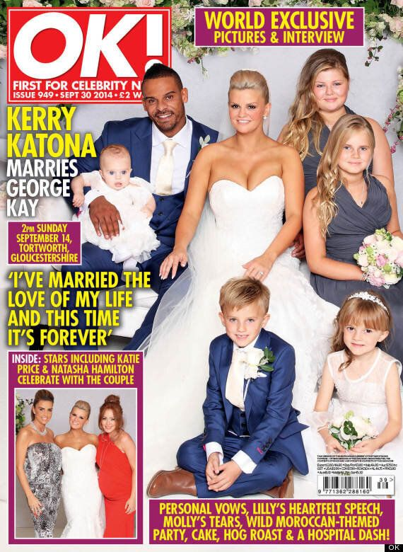 Kerry Katona Wedding Pictures: First Look Inside Atomic Kitten Star's Big Day As She Marries George Kay