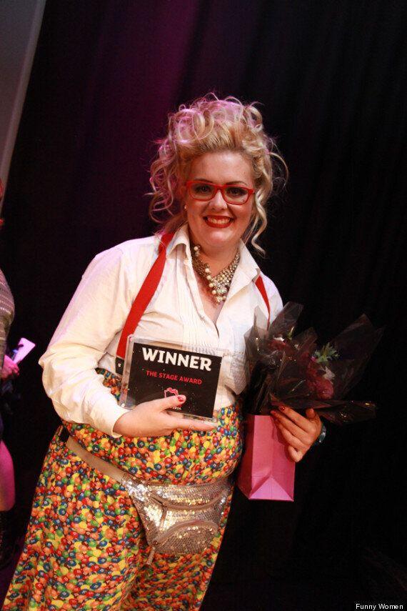 Jayde Adams Wins The 2014 Funny Women