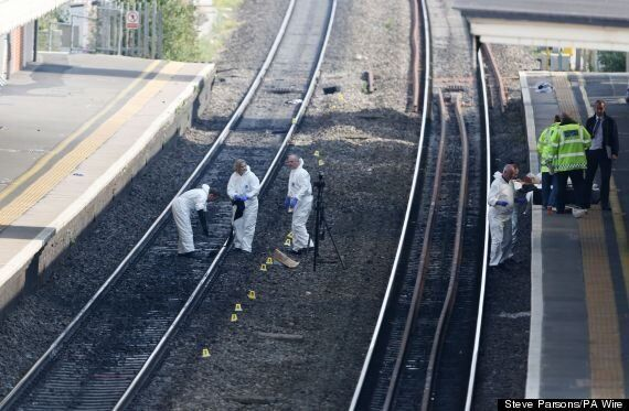 Police Name 'Murder-Suicide' Mother And Son Hit By Train In