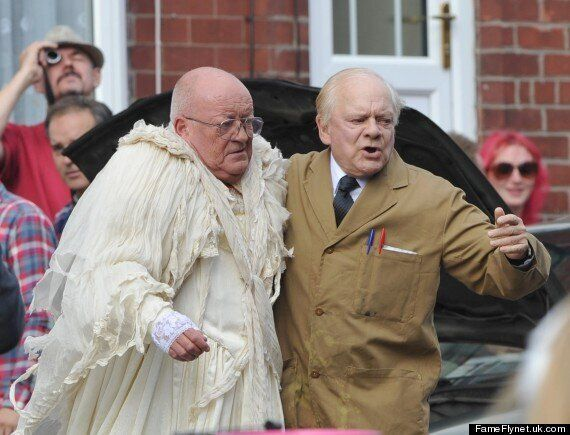 'Still Open All Hours': David Jason And Tim Healy Film Wedding Scenes Ahead Of New Series