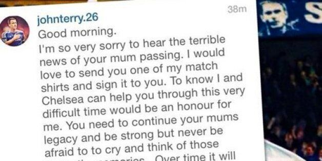 John Terry Sends Signed Chelsea Shirt To Bereaved