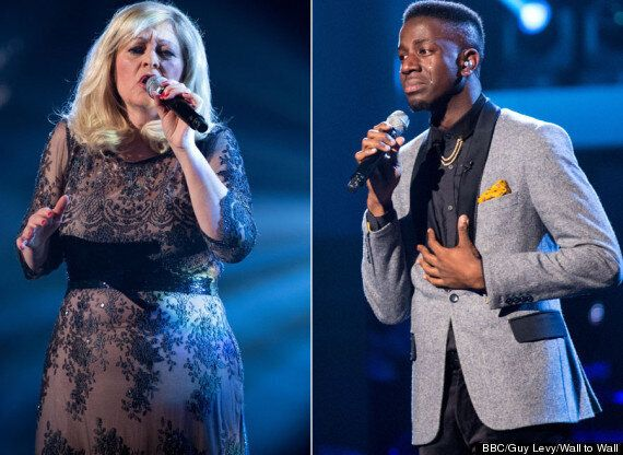 'The Voice' Winner Jermain Jackman Losing To Sally Barker In Chart