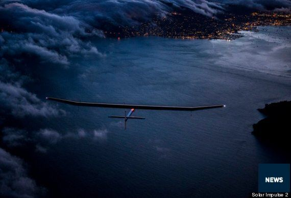Solar Impulse 2 Plane Aims To Circumvent The Globe Powered Only By The
