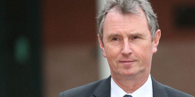PRESTON, LANCASHIRE - JANUARY 24: Former Deputy Speaker Nigel Evans leaves Preston Crown Court after...