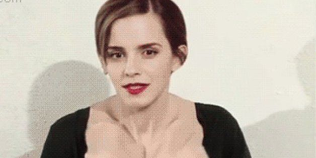 This Emma Watson Boobs GIF Is The Strangest Thing On The