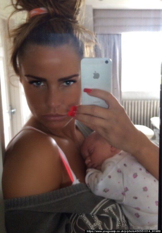 Katie Price Slams Baby Name Criticism, Insists She 'Loves The Name Bunny' And 'Doesn't Care' About