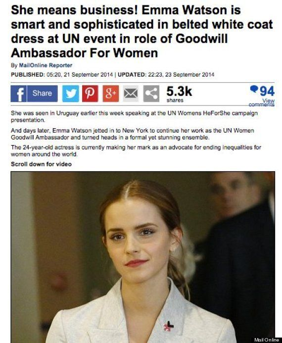 Three Newspapers That Completely Missed The Point Of Emma Watson's UN