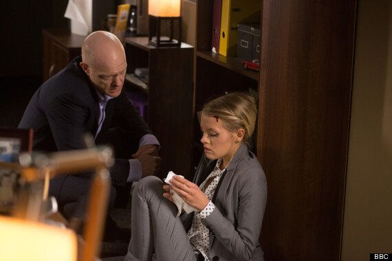 'EastEnders' Spoiler Alert: Lucy Beale And Max Branning In Dramatic Argument