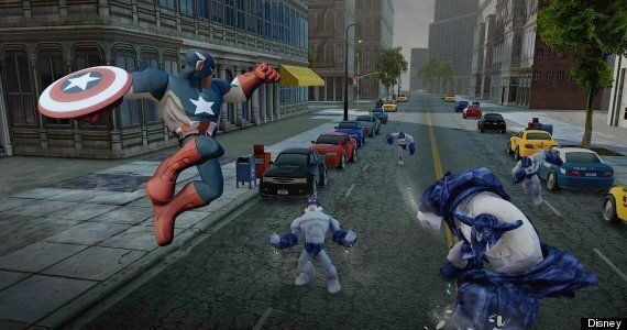 'Disney Infinity: Marvel Super Heroes 2.0 Edition' Review: Toys