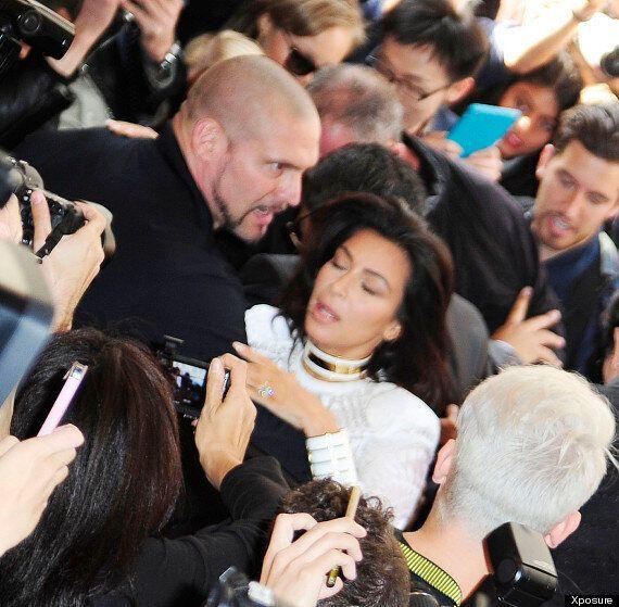 Kim Kardashian Attacked At Paris Fashion Week By Serial Prankster. Diverts Attention Back To Herself...