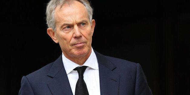 File photo dated 17/04/12 of former Prime Minister Tony Blair who has said that the UK and other Western...