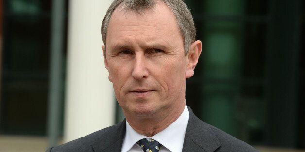 Former Commons deputy speaker Nigel Evans speaks outside Preston Crown Court after he was found not guilty...