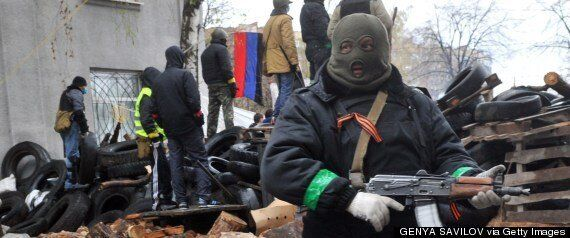 Ukrainian Killed And Pro-Russian Fighters Injured In Clashes Over Police