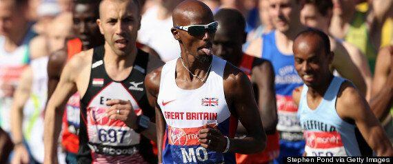 London Marathon Sees Olympic Champion Mo Farah At 8th