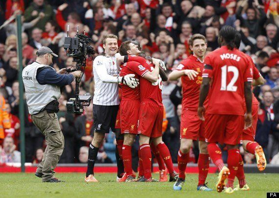 Liverpool 3-2 Manchester City: Lucky Reds Go Five Points