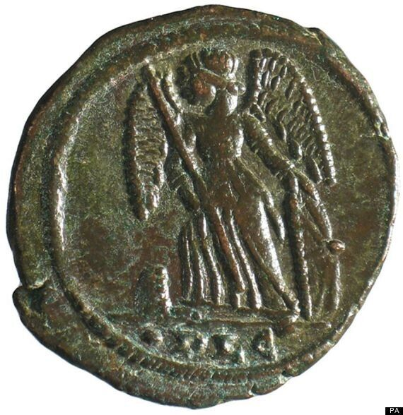 Roman Coin Hoarde Discovered By Builder In