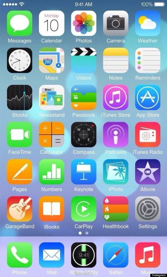 iOS 8 Latest: This Could Be The First iPhone 6 Screenshot