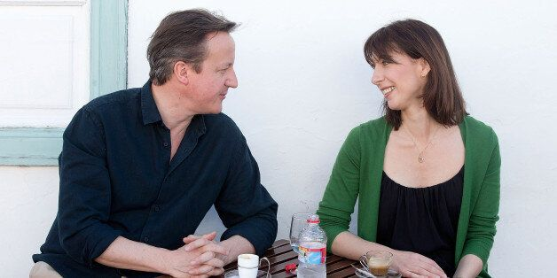 David Cameron Holidays In Lanzarote With Samantha