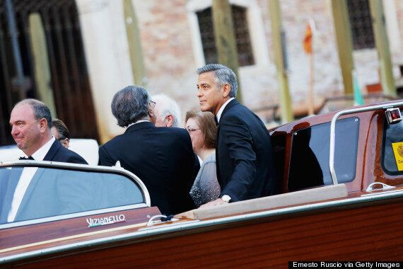 George Clooney Wedding: Actor Arrives At Venice's Canal Grande Hotel Where He Will Reportedly Marry Amal...