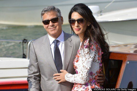 George Clooney And Amal Alamuddin Married: Newlyweds Show Off Wedding Rings Following Venice Ceremony
