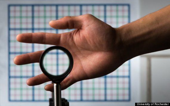Invisibility Device Made From 'Off The Shelf' Parts Actually