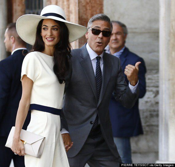 George Clooney And Amal Alamuddin Wedding Pictures: Couple Make Marriage Official With Civil Ceremony