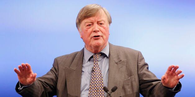 Ken Clarke addresses the 2014 Scottish Conservative Party conference at the Edinburgh International Conference...