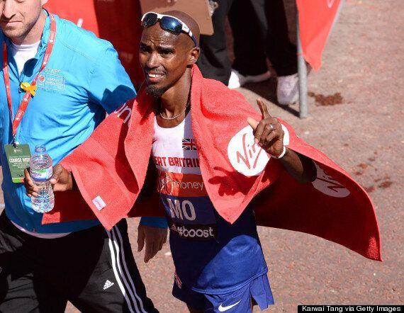 Mo Farah Upbeat Despite London Marathon Disappointment