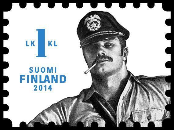 Tom Of Finland Stamps Herald 'Confident & Proud Homoeroticism'