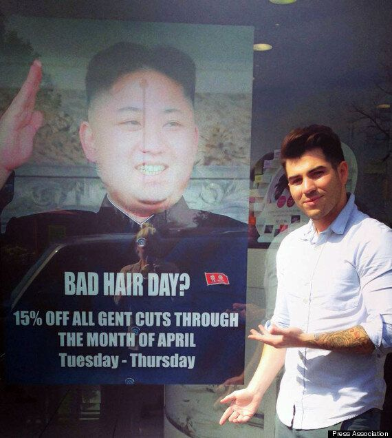 North Korean Embassy Tried To Get Hairdresser To Remove Kim-Jong Un 'Bad Hair Day'