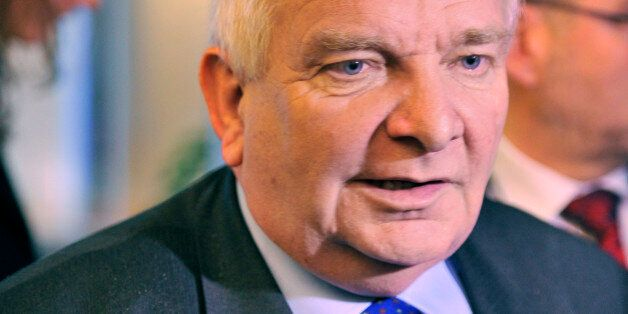 Joseph Daul, chairman of the centre-right European People's Party (EPP) Group in the European Parliament...