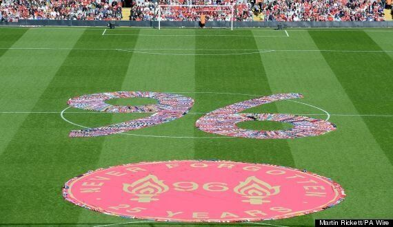 Hillsborough Anniversary: Thousands Gather For Anfield Memorial Service (PICTURES)