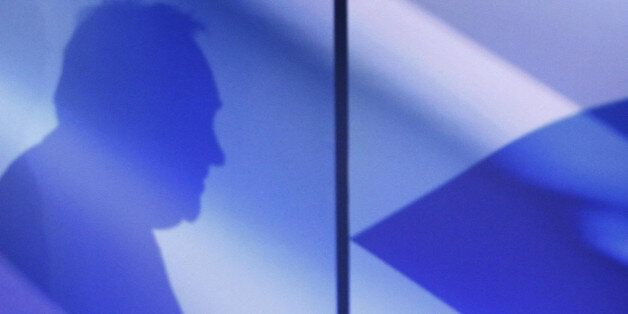 SNP leader Alex Salmond during the launch of their manifesto for the General Election at the Institution...