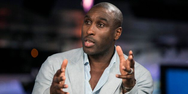 Sol Campbell, a former Premier League soccer player for Arsenal, and captain of the England football...