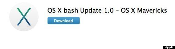 Apple Releases Shellshock Fix For