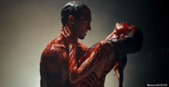 Maroon 5 Video For 'Animals' Stars Adam Levine As Butcher Stalking New Wife Behati