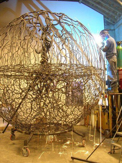 When an Artist Rids the Ego, Helpful Art is Born: Matthew Sanderson - The 21st Century