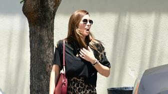Photo by: gotpap/STAR MAX/IPx 2019 6/10/19 Jessica Biel is seen in Los Angeles, CA.
