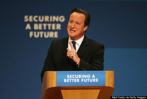 David Cameron Pledges To Raise Threshold For 40p Tax Rate From £41,900 To