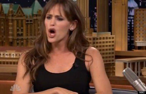 Jennifer Garner Does A Pretty Accurate Impression Of Husband Ben Affleck