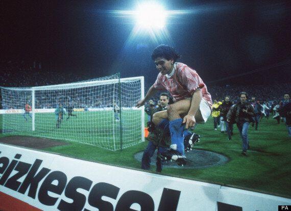 Diego Maradona's Live Is Life Warm-Up: 25 Years Ago