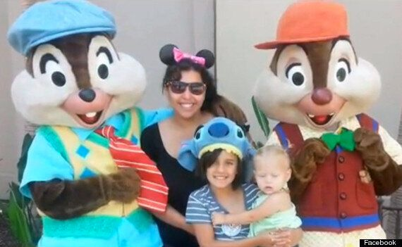 Mother Ordered To Cover Her Cleavage On Family Trip To Disneyland Resort