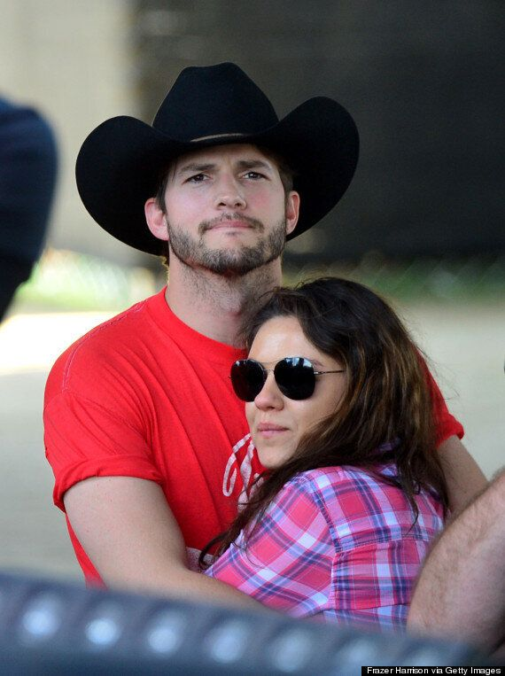 Mila Kunis And Ashton Kutcher Share Their Baby Girl's First Photo And Name, Wyatt Isabelle