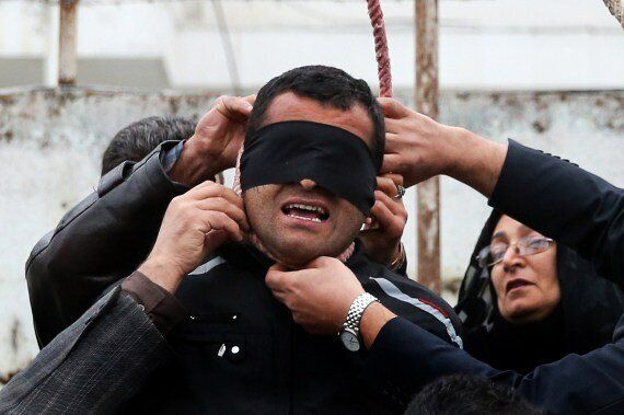 Iranian Killer Spared Execution When Victim's Mother Forgives Him As Noose Is Tied