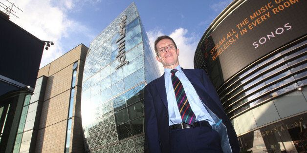 John Lewis managing director Andy Street at the John Lewis store in Westfield